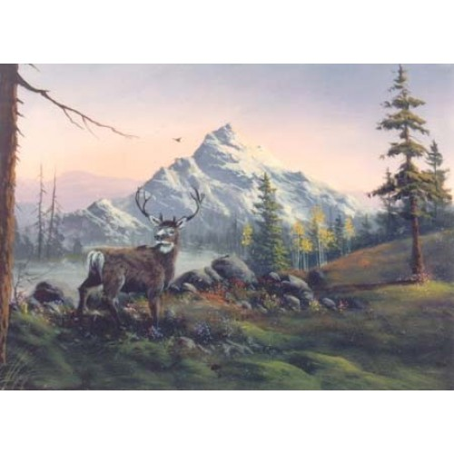 8844 MOUNTAIN AND DEER